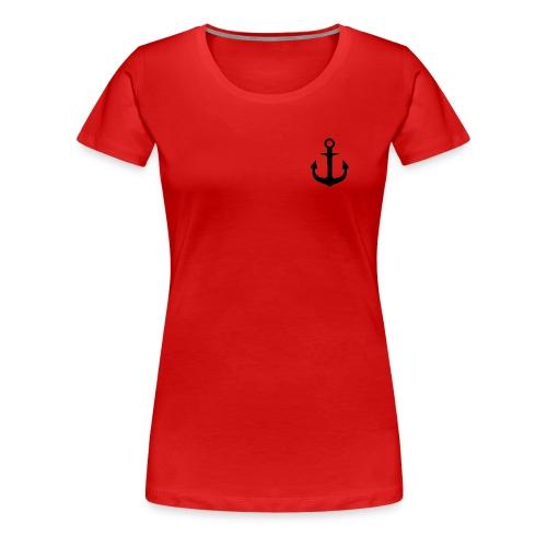 Anker - Black - Frauen Premium T-Shirt