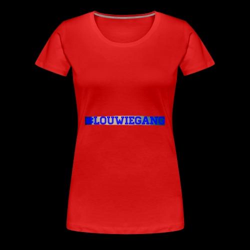 Louwie gang - Premium-T-shirt dam
