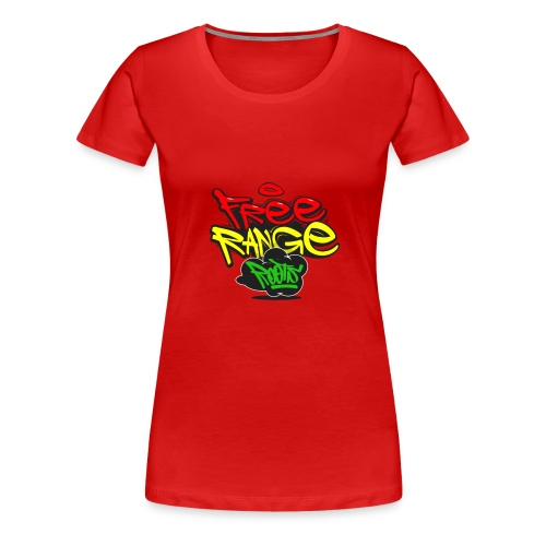 Freerange_Roots - Women's Premium T-Shirt
