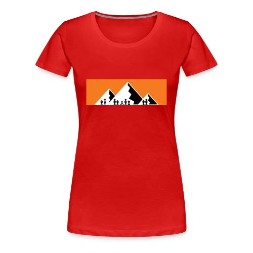 Camping Berge Wandern Mountain - Frauen Premium T-Shirt