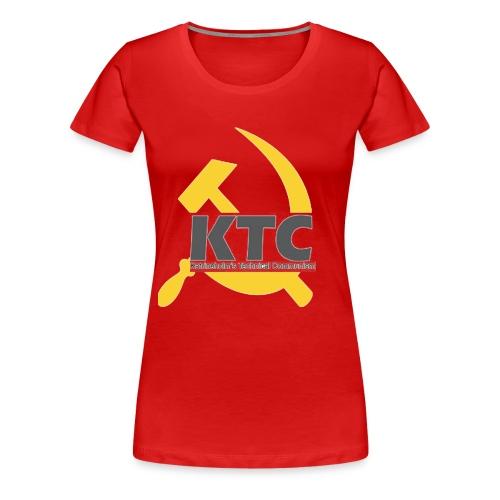 kto communism shirt - Premium-T-shirt dam