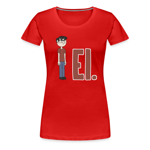 EI. - Naisten premium t-paita