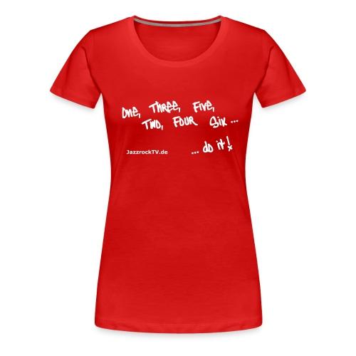 JazzrockTV - Do It! - Frauen Premium T-Shirt