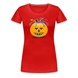 Pumpkin Spiced Patches - Frauen Premium T-Shirt