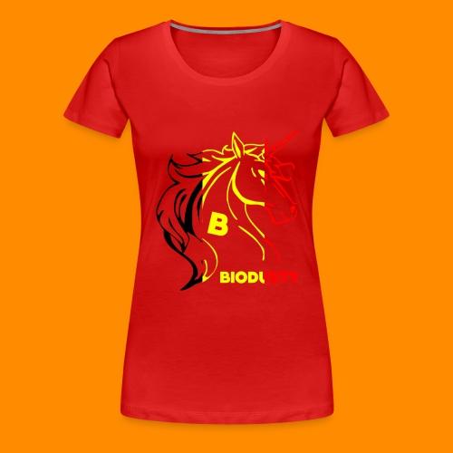 belgian biodusty unicorn hoodie unisex - Vrouwen Premium T-shirt