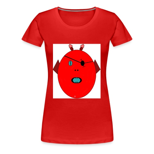 The red monster - Premium-T-shirt dam