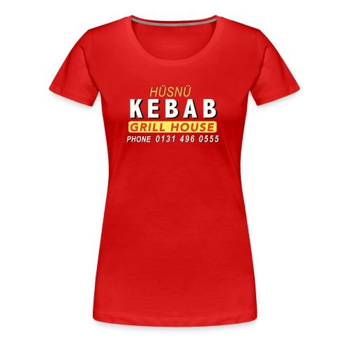 Husnu Kebab Shop - Women's Premium T-Shirt