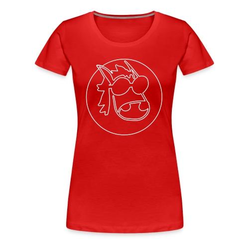 Linework Icon - Frauen Premium T-Shirt