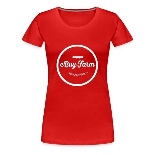 Logo Pecho eBuyFarm - Camiseta premium mujer