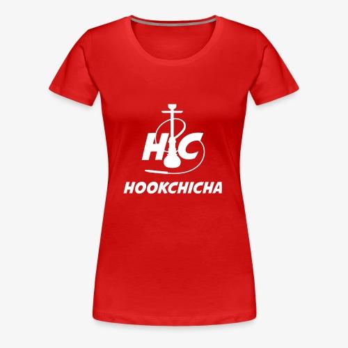 Design Officiel de la team HookChicha - T-shirt Premium Femme