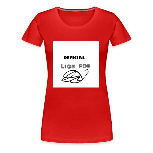 """Lion Foe """"Signature"""" - Frauen Premium T-Shirt"""