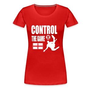 England control the game Russia 2018 - Women's Premium T-Shirt