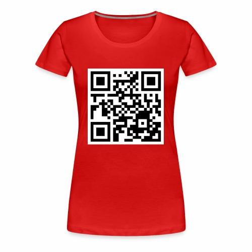 qrcode - Frauen Premium T-Shirt