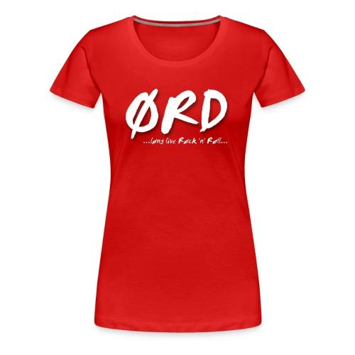 Ørd Bandmane - Frauen Premium T-Shirt