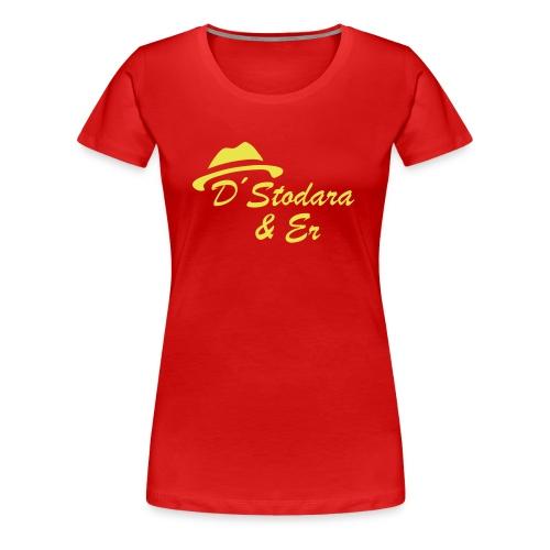 stodara er logo - Frauen Premium T-Shirt