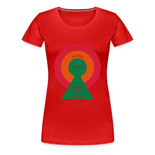 Comercio Local - Camiseta premium mujer
