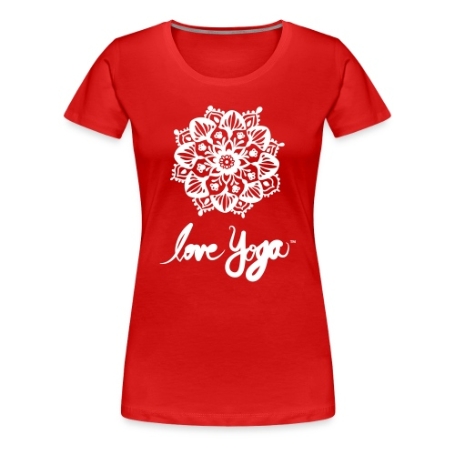 Love Yoga. Simply love it. - Premium T-skjorte for kvinner