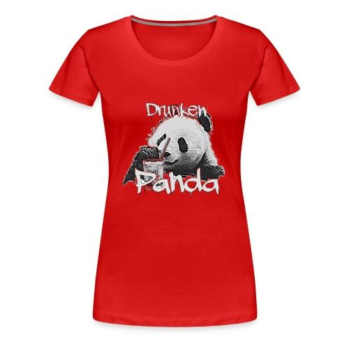 Drunken Panda - Frauen Premium T-Shirt