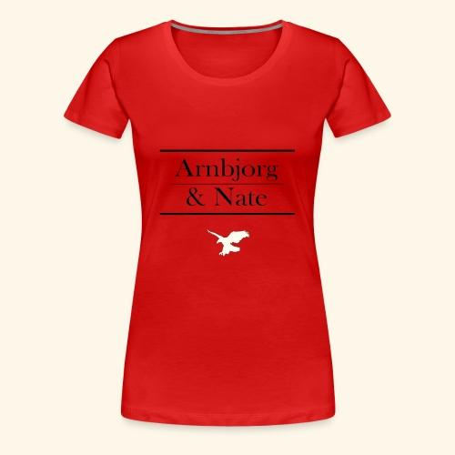 Arnbjorg & Nate - Frauen Premium T-Shirt