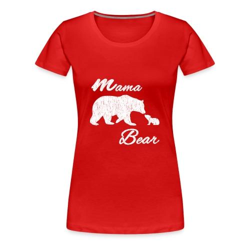 mamabearvintage - Frauen Premium T-Shirt