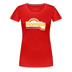 HOLMLIA SOLKYSTEN - Premium T-skjorte for kvinner