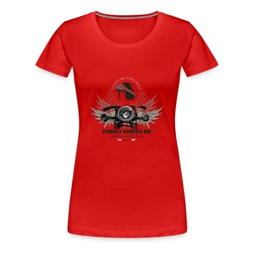 Female Riders logo 2 - Women's Premium T-Shirt