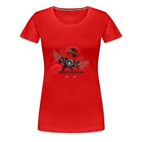 Female Riders Logo 2 lips - Women's Premium T-Shirt