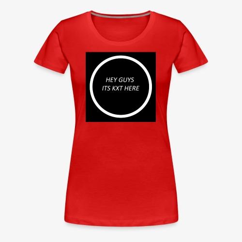 KxT Intro Merch - Women's Premium T-Shirt