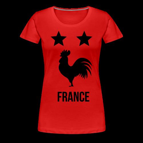 FRANCE 2018 - T-shirt Premium Femme