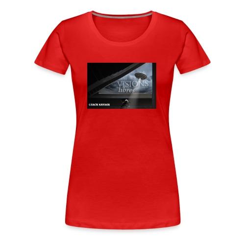 UFO by Jack Savage / Visions Libres Magazine - Frauen Premium T-Shirt