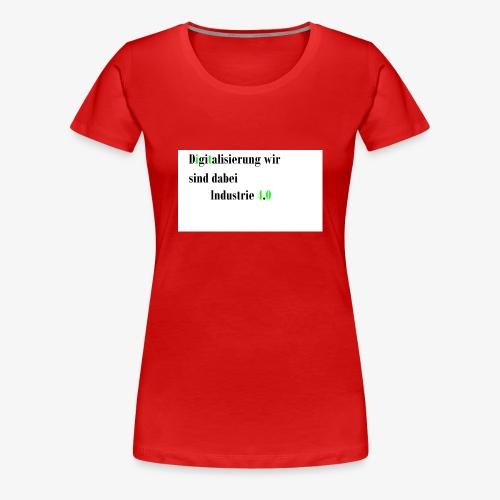 Industrie - Frauen Premium T-Shirt