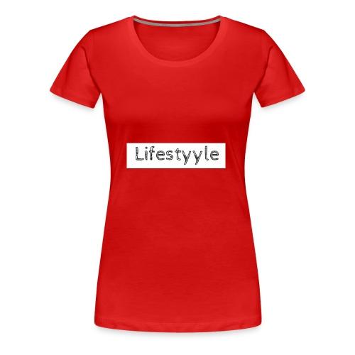 Lifestyyle weiss - Frauen Premium T-Shirt