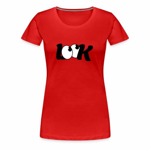 LOOK - Koszulka damska Premium