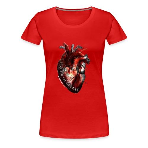 Heart of metal - Maglietta Premium da donna