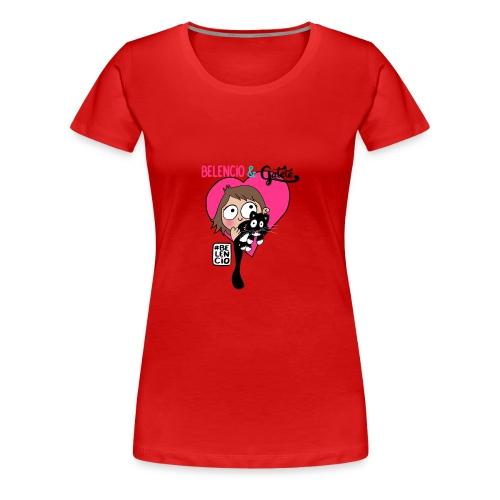 Belencio & Gatete - Camiseta premium mujer