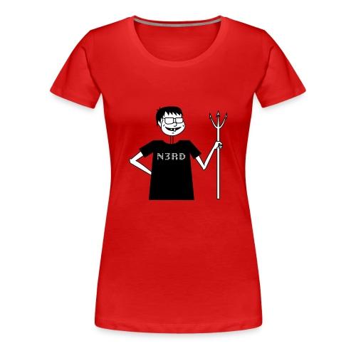 Evil Nerd - Frauen Premium T-Shirt