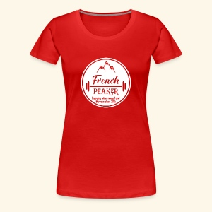 Logo french peakers - T-shirt Premium Femme
