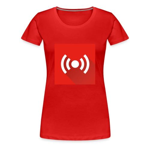 officiële youtube live stream - Vrouwen Premium T-shirt