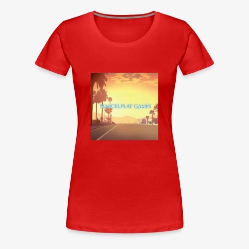 MarcelPlay Games - Women's Premium T-Shirt