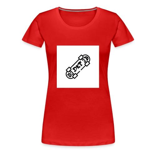 Logo DKT - Vrouwen Premium T-shirt