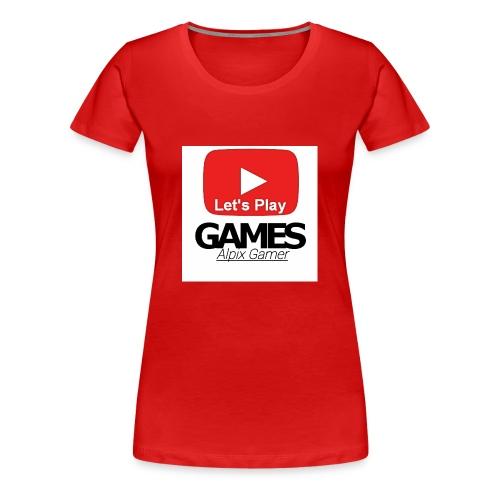 Das ist mein YouTube logo - Frauen Premium T-Shirt