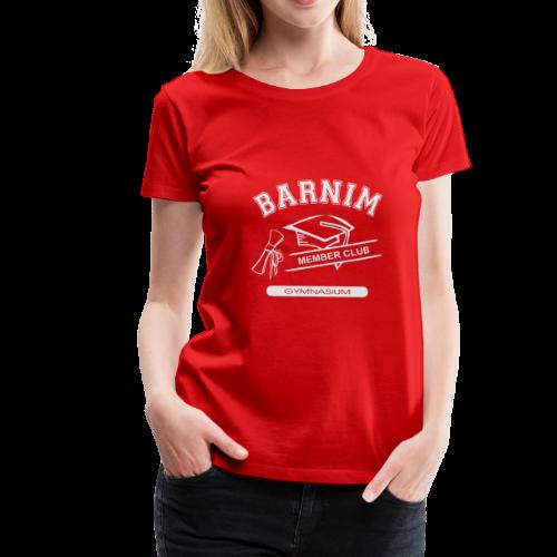 Member Club Logo (hellgrau) - Frauen Premium T-Shirt