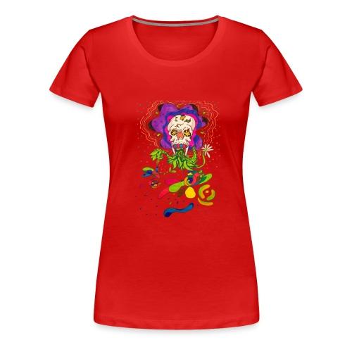 doskalle - Premium-T-shirt dam