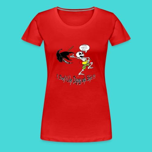 Happy Living Skeleton - Vrouwen Premium T-shirt