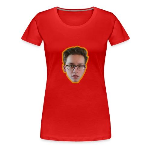 T-shirt met ginger hoofd op - Vrouwen Premium T-shirt