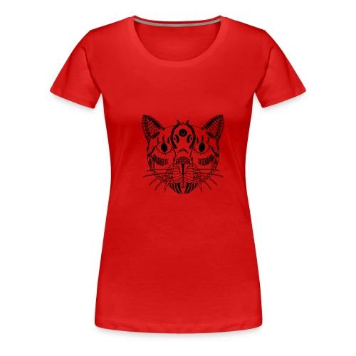 cat - Vrouwen Premium T-shirt