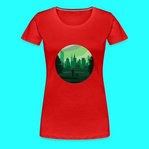 a green city - Maglietta Premium da donna