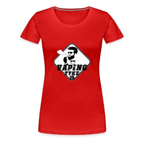the Vaping tyke - Women's Premium T-Shirt