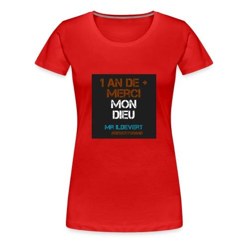 MMD - T-shirt Premium Femme