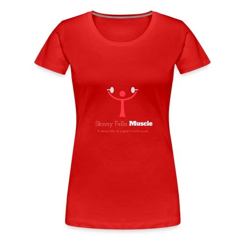 Logo T-Shirt - Black - Women's Premium T-Shirt